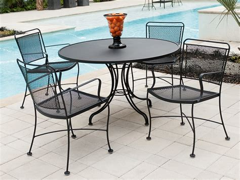 wrought iron patio furniture set wrought iron garden furniture landscaping gardening ideas