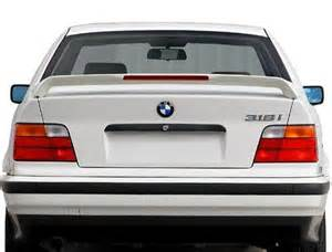 jsp 339026 bmw m3 sedan e36 rear spoiler primed 1992 1999