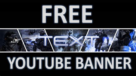 Free Youtube Gaming Banner Psd File Youtube Free Gaming Banner Template
