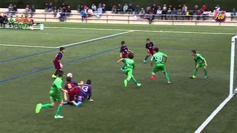 barcelona academy fc barcelona masia academy spectacular goal alev 237 a vs