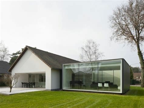 glass box house glass box extension extension pinterest glasses belgium and family homes