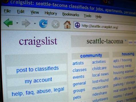 craigslist couch seattle crafts list seattle