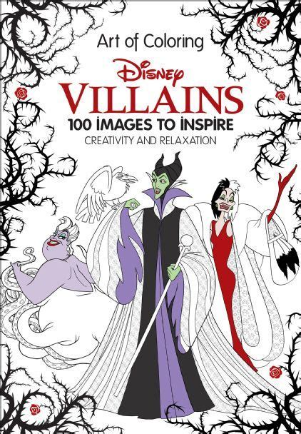 advanced coloring books for sale of coloring disney villains disney books disney