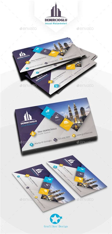 construction business cards templates photoshop 25 best ideas about construction business cards on