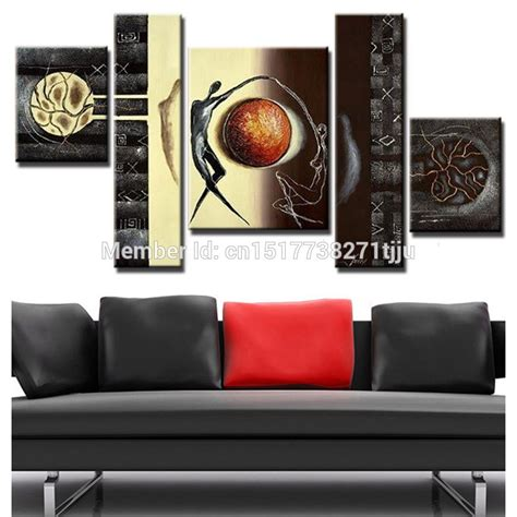 home decor sets hand painted canvas oil painting abstract canvas wall art