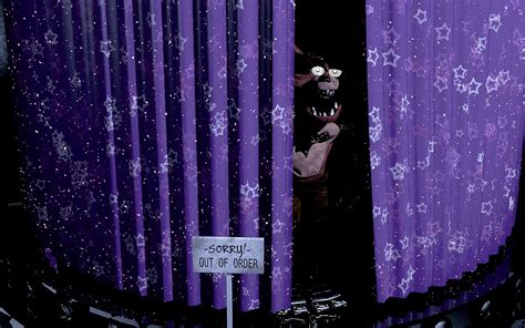 out through the curtain image 813451 five nights at freddy s know your meme