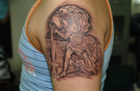 aquarius tattoo for men aquarius tattoos designs ideas and meaning tattoos for you