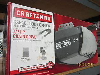53985 Garage Door Opener Craftsman 12 Hp Chain Drive Garage Door Opener 53985 The Knownledge