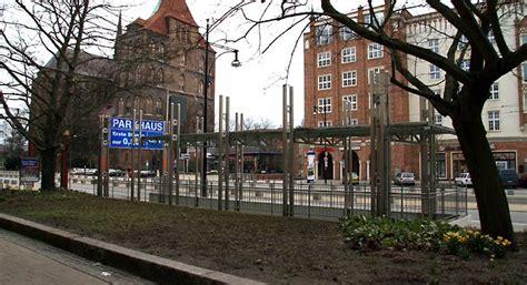 garage rostock tiefgarage parkhaus quot city quot in der rostocker innenstadt