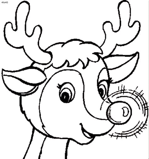 coloring pages deer rudolf 11 rudolph reindeer coloring pages gt gt disney coloring pages