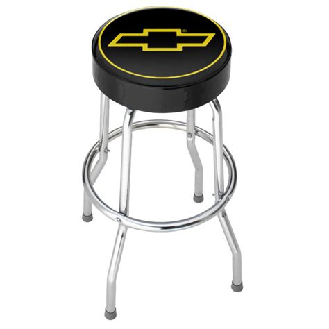 Garage Stools With Logos by Chevy Logo Garage Stool By Chevy At Mills Fleet Farm
