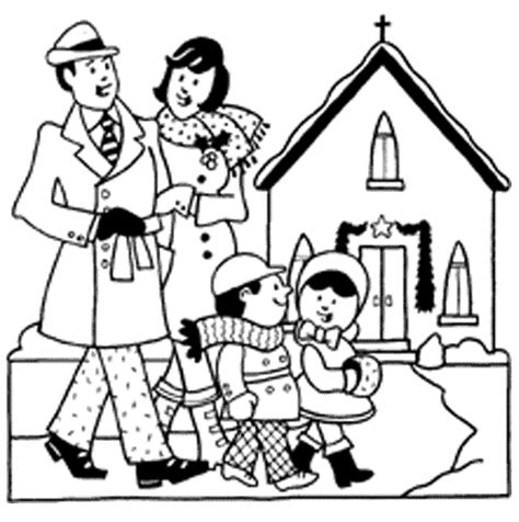 coloring page of family going to church church family images clipart panda free clipart images