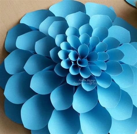 big flower paper template 25 best paper flower templates ideas on paper