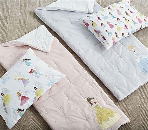 princess sleeping bag with pillow disney princess sleeping bags pottery barn