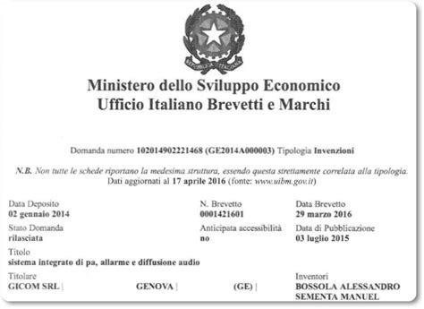 ufficio italiano brevetti e marchi ufficio italiano brevetti e marchi vitaliano alessio