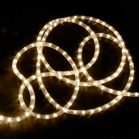 10m warm white led rope light
