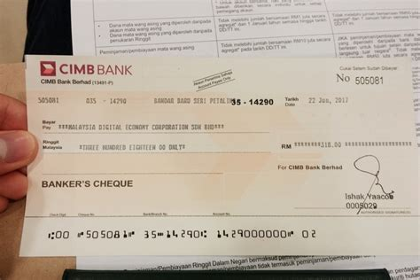 bank draft template buying bank draft in cimb malaysia story of