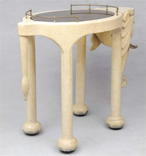 marge carson elephant high top bar table and stools at 1stdibs