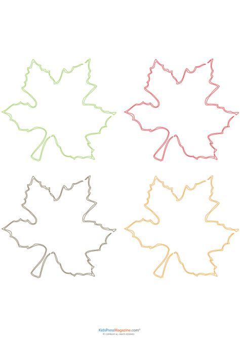 free printable maple leaves canada printable maple leaves kidspressmagazine com