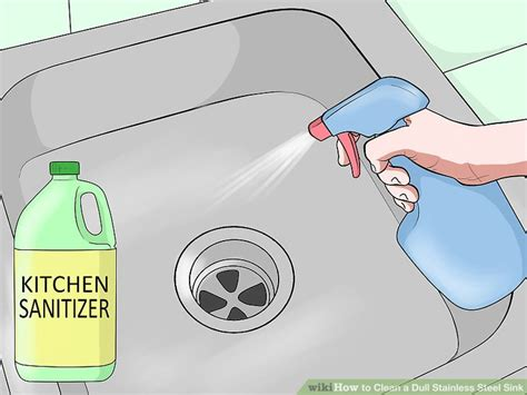 how to clean stainless steel kitchen sink how to clean a dull stainless steel sink 14 steps with