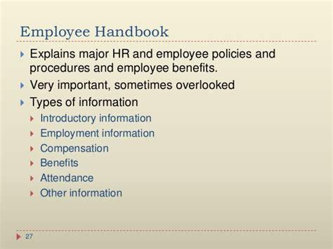 employee handbook benefits section 28 images 25 best