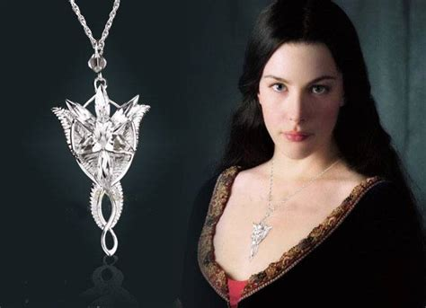 stunning arwen evenstar pendant lord of the rings