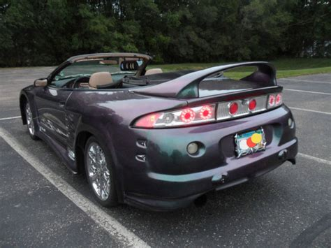 1997 mitsubishi eclipse convertible 1997 mitsubishi eclipse spyder pictures cargurus