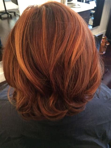 auburn hair color with highlights 76 best images about hair makeover on ombre