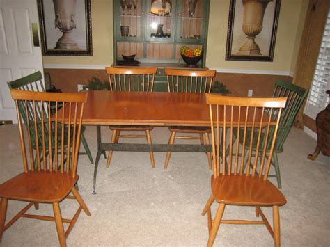 dining room chairs ethan allen ethan allen dining room set must sell ethan allen