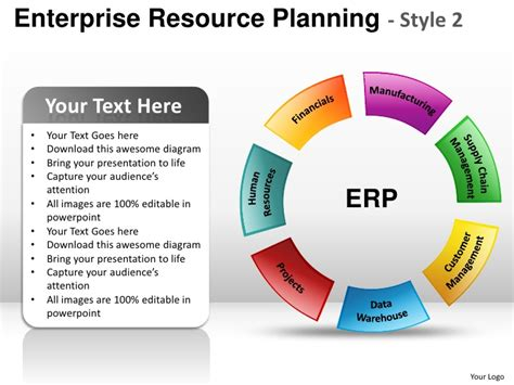 ppt templates free download erp enterprise resource planning style 2 powerpoint