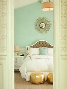 Seafoam Green Curtains Decorating Mint Green Walls Contemporary Bedroom Thornton Designs