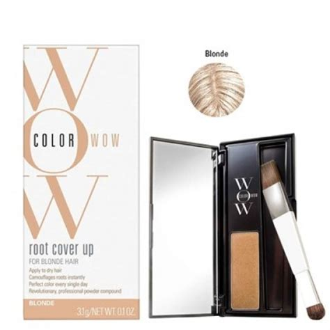 color wow root cover up color wow color wow root cover up blonde