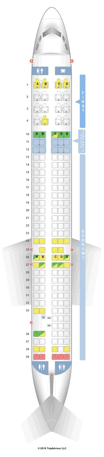 md 90 seating chart seatguru seat map delta mcdonnell douglas md 90 seatguru