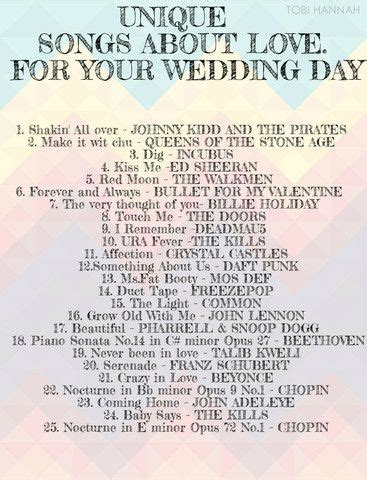 Eclectic Wedding Song List by 130 Best Wedding Songs Images On