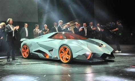 Who Invented Lamborghini Cars Lamborghini Egoista Single Seater Ultra Car Unveiled At