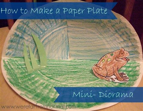 How To Make Paper Plate Animals - 17 best images about kindergarten book report on