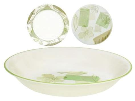 corelle leaf pattern corelle textured leaves 20 oz pasta soup salad bowl 8 1 2