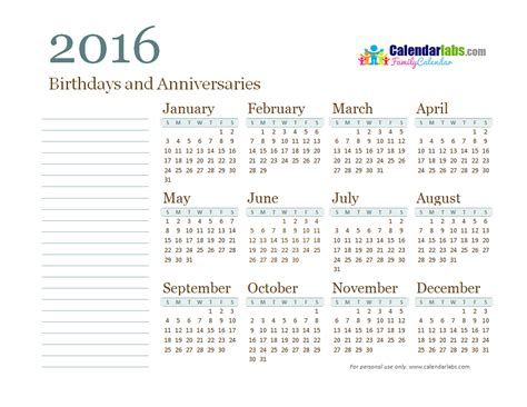 printable calendar calendar labs calendar labs for 2016 yearly calendar calendar template