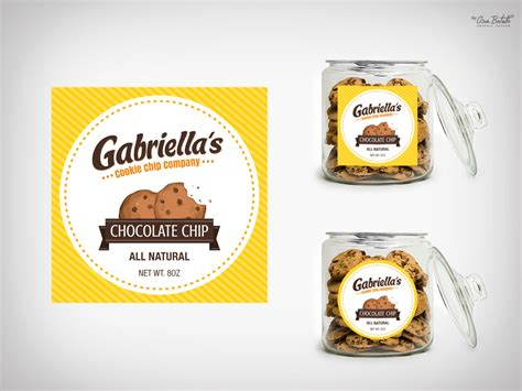 design label cookies label design for lisa ross by abgraphicdesign design