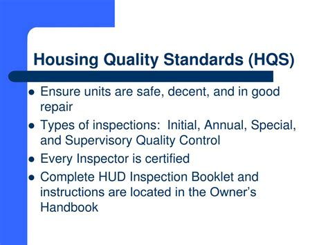 section 8 housing quality standards ppt south carolina state housing finance and development