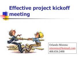 project kickoff meeting presentation template effective project kickoff meeting