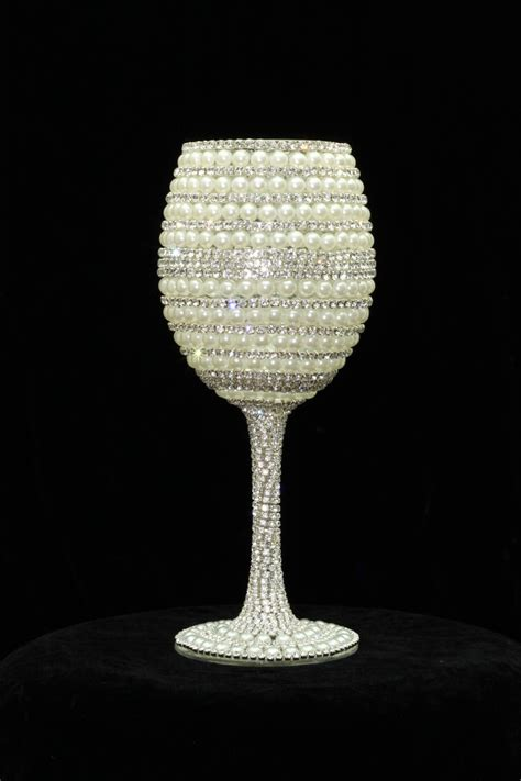 Handmade Wine Glass - custom made wine glasses wine glass wedding glasses