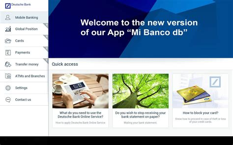 deutsche bank travel card mi banco db android apps on play
