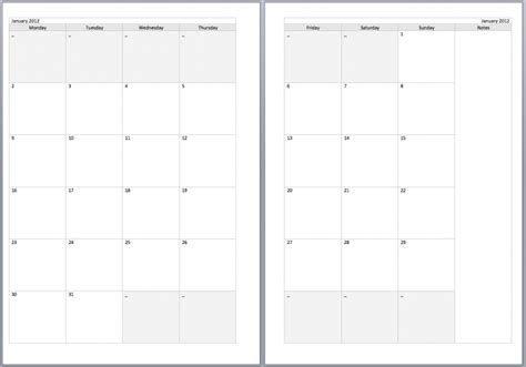 two month calendar template 2 page monthly calendar printable free calendar template