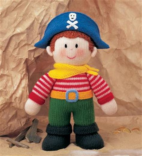 Knitting Pattern For A Pirate Doll | thoughts from the bus stop captain jack sparrow knitted doll