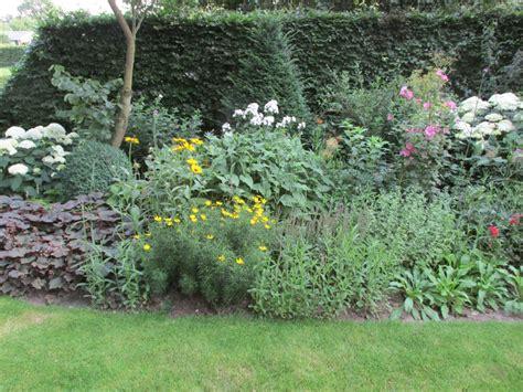 Vaste Planten Border Beplantingsplan by Nieuwe Vaste Planten En Heesters Uitplanten In Je Border