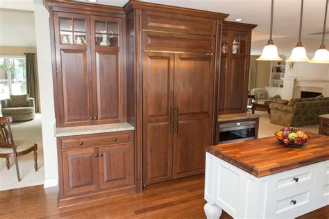 kitchen cabinets rochester ny classic walnut kitchen remodel in rochester ny concept ii