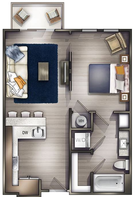 one bedroom apartments nashville 126 best apartments images on pinterest architecture projects and small houses