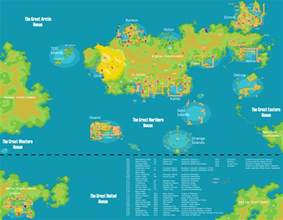 Map Of The Pokemon World my pokemon world map v6 0 by jamisonhartley on deviantart