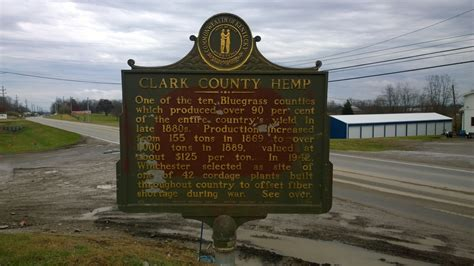 Susannah Clarke Ill To Tour by Hemp For Victory In Clark County Kentucky Tour